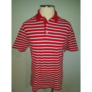 Tommy Hilfiger Golf Striped Collared Polo Size Med